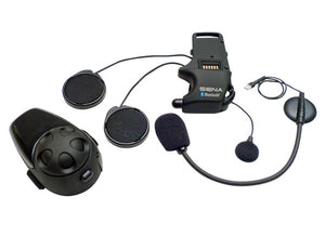Sena SMH10 SINGLE with UNIVERSAL Mic Motorcycle Bluetooth Headset Intercom
