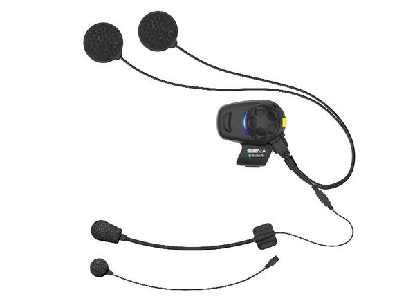 Sena SMH5-FM SINGLE with UNIVERSAL Mic Bluetooth Headset & Intercom Built-in FM Tuner