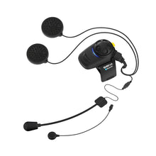 Load image into Gallery viewer, Sena SMH5-FM SINGLE with UNIVERSAL Mic Bluetooth Headset & Intercom Built-in FM Tuner