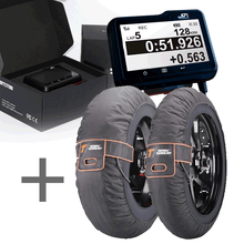Load image into Gallery viewer, SpeedAngle Apex Lap Timer + Thermal Technology Pro Tyre Warmers Bundle