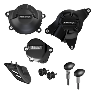GBRacing Crash Protection Bundle (Street) for Yamaha YZF-R6