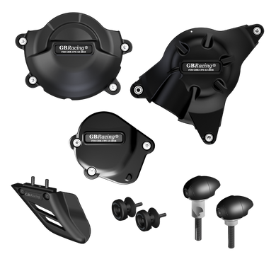 GBRacing Crash Protection Bundle (Race) for Yamaha YZF-R6