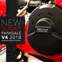Load image into Gallery viewer, GBRacing Gearbox / Clutch Cover for Ducati Panigale V4