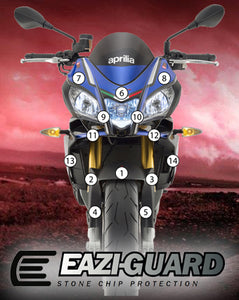 Eazi-Guard Stone Chip Paint Protection Film for Aprilia Tuono V4 2015 - 2017