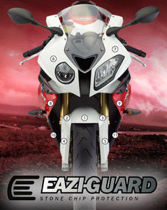 Eazi-Guard Stone Chip Paint Protection Film for BMW S1000RR HP4 2009 - 2014 matte