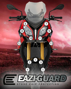 Eazi-Guard Stone Chip Paint Protection Film for BMW S1000XR 2015