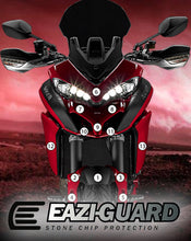 Load image into Gallery viewer, Eazi-Guard Stone Chip Paint Protection Film for Ducati Multistrada 1200 2015 - 2017