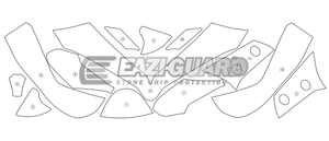 Eazi-Guard Stone Chip Paint Protection Film for Ducati Multistrada 1200 2015 - 2017