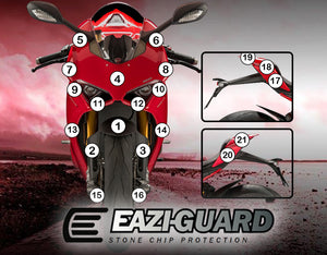 Eazi-Guard Paint Protection Film (Matte) for Ducati Panigale V4