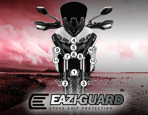 Eazi-Guard Paint Protection Film for Ducati Multistrada 950 matte