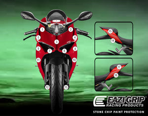 Eazi-Guard Paint Protection Film for Ducati Panigale V2  matte