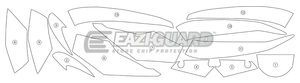Eazi-Guard Stone Chip Paint Protection Film for Honda CBR650RR/F
