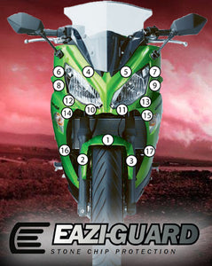 Eazi-Guard Stone Chip Paint Protection Film for Kawasaki Ninja 650 2012 – 2016