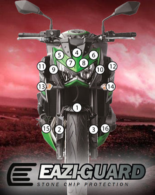 Eazi-Guard Stone Chip Paint Protection Film for Kawasaki Z800 2013-2016