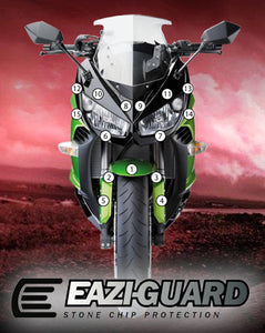 Eazi-Guard Paint Protection Film for Kawasaki Ninja 1000 2014 - 2016 matte