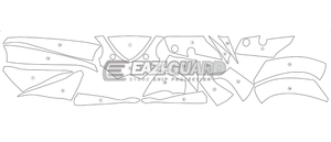 Eazi-Guard Stone Chip Paint Protection Film for Suzuki GSX-R 600 / 750 2011-2016