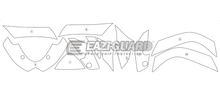 Load image into Gallery viewer, Eazi-Guard Stone Chip Paint Protection Film for Suzuki GSX-R 1000 2009 - 2016