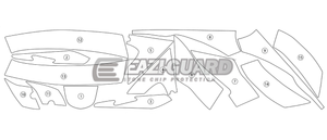Eazi-Guard Stone Chip Paint Protection Film for Triumph Sprint GT