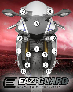Eazi-Guard Paint Protection Film for Yamaha YZF-R1M 2015 - 2019 matte
