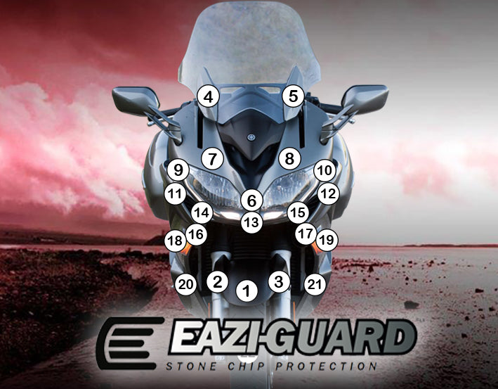 Eazi-Guard Paint Protection Film for Yamaha FJR1300A
