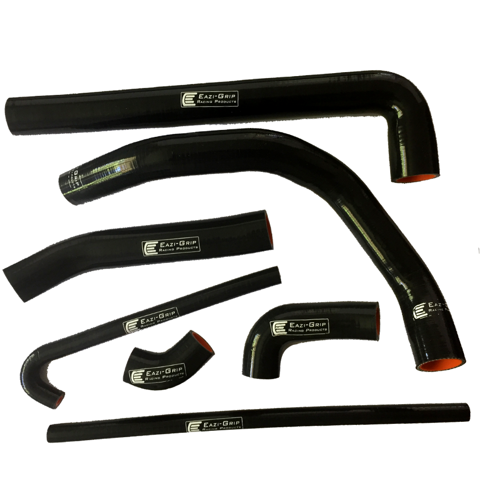 Eazi-Grip Silicone Hose Kit for Ducati Panigale  black