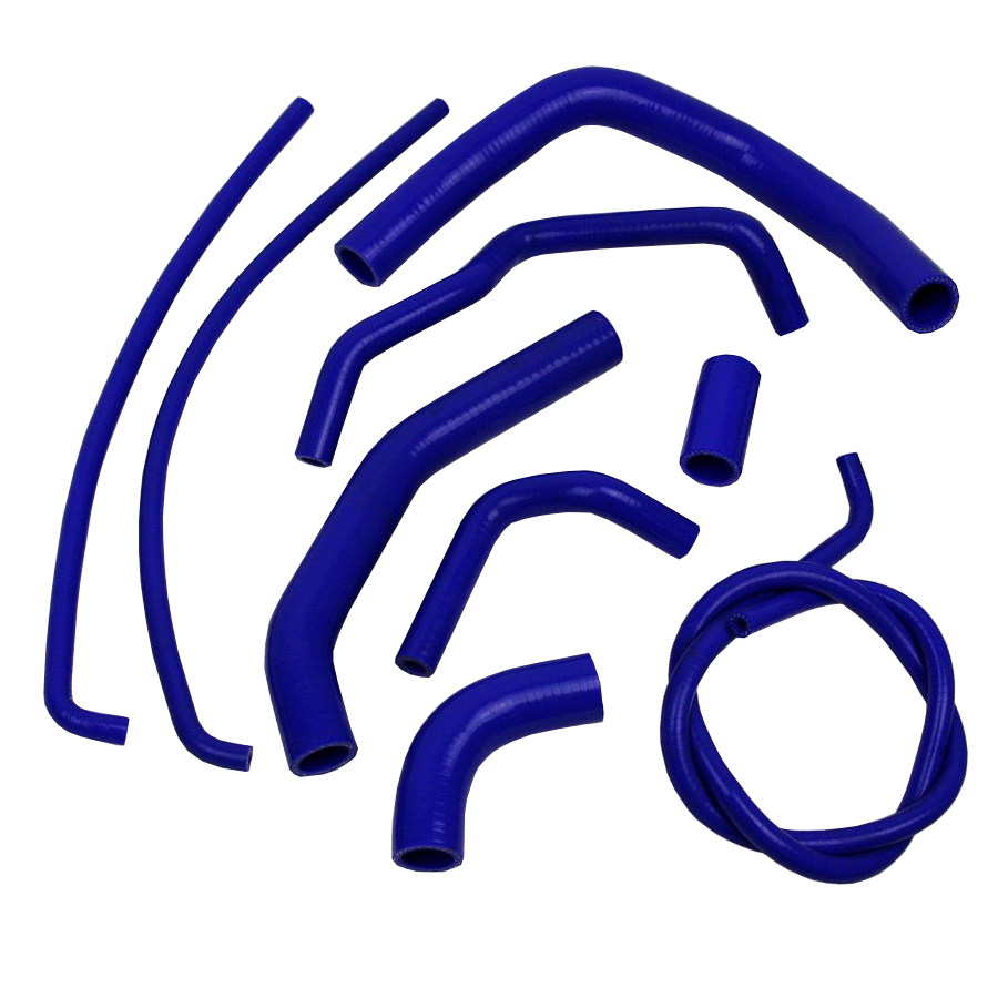 Eazi-Grip Silicone Hose Kit for Kawasaki Z1000 2010 - 2014  blue