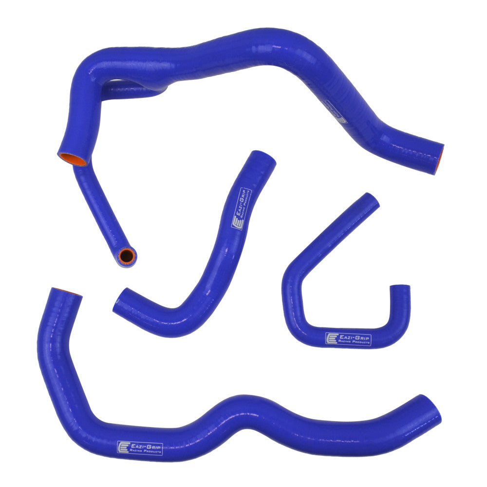Eazi-Grip Silicone Hose Kit (Race) for Kawasaki ZX-6R 2009 - 2019  blue