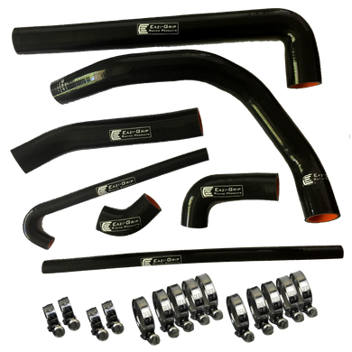 Eazi-Grip Silicone Hose and Clip Kit for Ducati Panigale  black