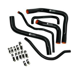Eazi-Grip Silicone Hose and Clip Kit for Suzuki GSX-R600/750 Black
