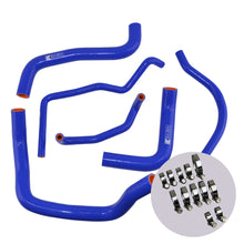 Load image into Gallery viewer, Eazi-Grip Silicone Hose and Clip Kit for Suzuki GSX-R600/750 2011  blue