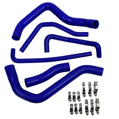 Eazi-Grip Silicone Hose and Clip Kit for Suzuki GSR 600 750  blue