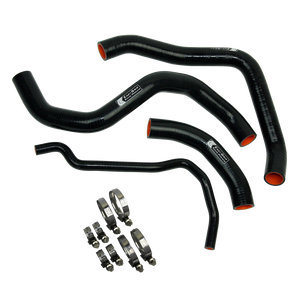 Eazi-Grip Silicone Hose and Clip Kit for Suzuki GSX-R1000 Black