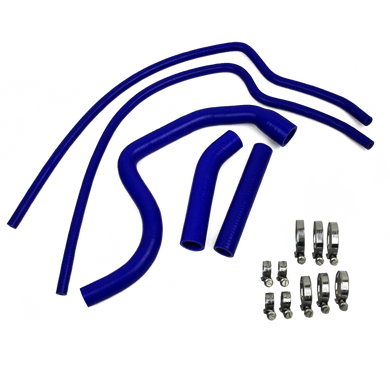 Eazi-Grip Silicone Hose and Clip Kit for Triumph Speed Triple 1050  blue