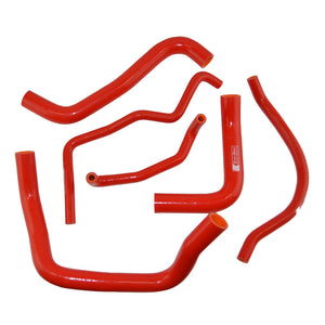Eazi-Grip Silicone Hose and Clip Kit for Suzuki GSX-R600/750 2011  red