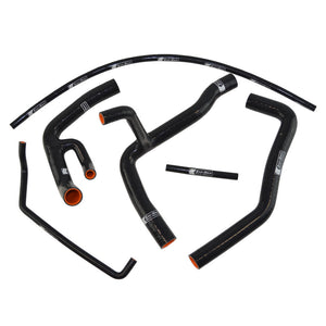 Eazi-Grip Silicone Hose and Clip Kit (Race) for Yamaha YZF-R6  black