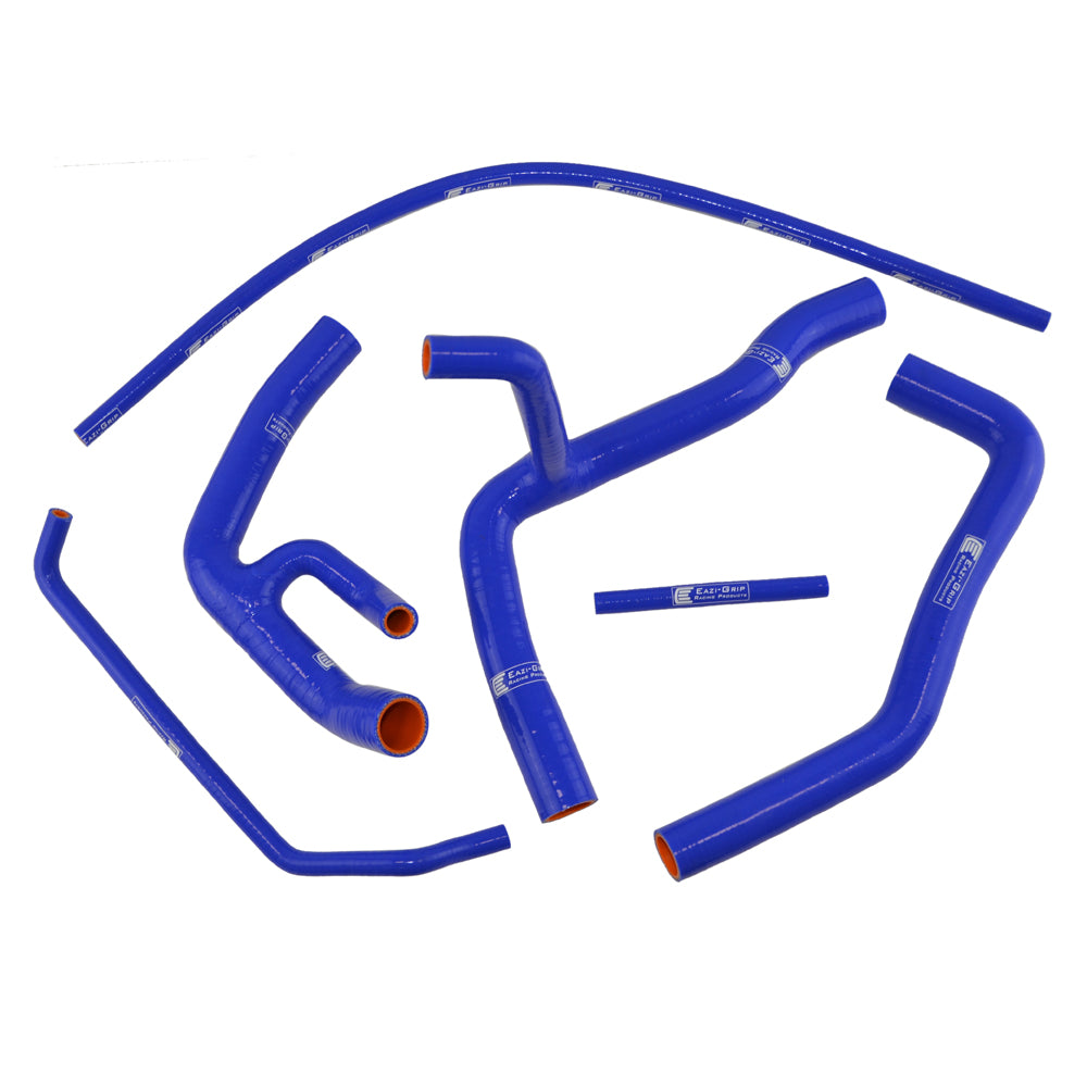 Eazi-Grip Silicone Hose Kit (Race) for Yamaha YZF-R6 2006 - 2019  blue