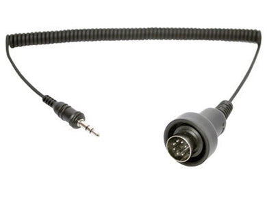 Sena 3.5mm Stereo Jack to 7 pin DIN Cable for 1998-later Harley...