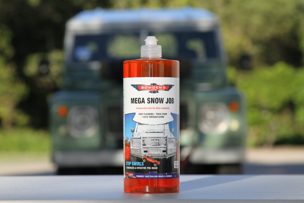 Introducing Bowden's Own Mega Snow Job - Designed for 4x4 Enthusiast