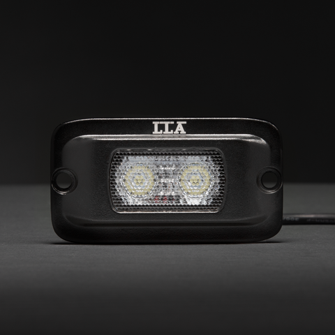10W Diffused Flood Work Light (Flush Mount) | Led Light Bars Australia