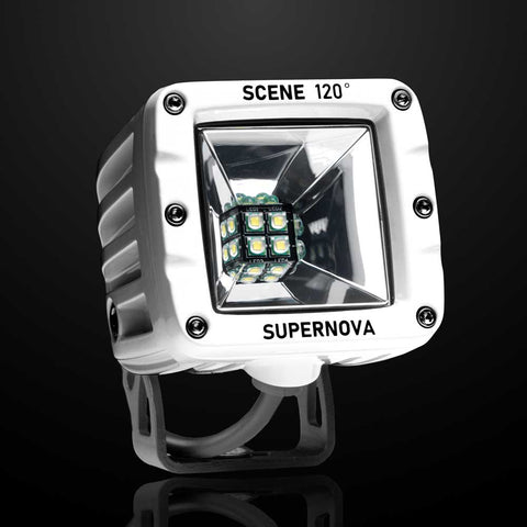 Scene Work Light 120º Ultra Flood - Polar Edition | SuperNova Lighting