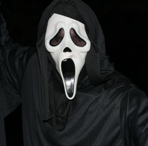 Screaming Ghost Scary Halloween Masks