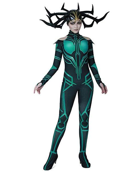 BFJFY Marvel The Thor Character Hela Women Cosplay Costume For Halloween - BFJ Cosmart