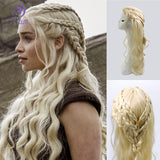 Song of Ice and Fire Game of Thrones Wig Cosplay Daenerys Targaryen Mother of Dragons - BFJ Cosmart