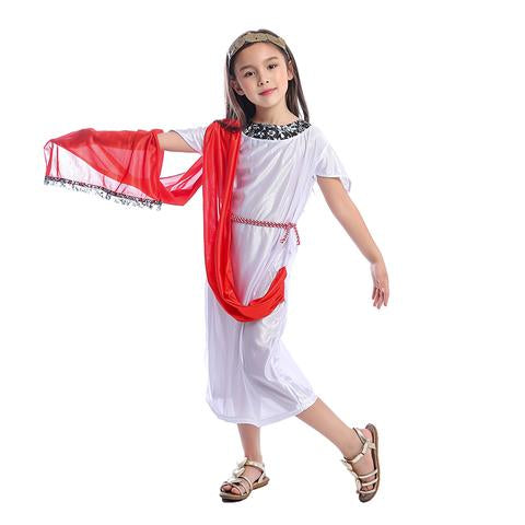 BFJFY Girls Princess Greek Goddess Fancy Dress-up Halloween Costume - BFJ Cosmart
