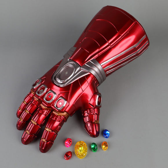 Avengers Endgame Ironman Stone Movable Led Light Infinity War Glove - BFJ Cosmart