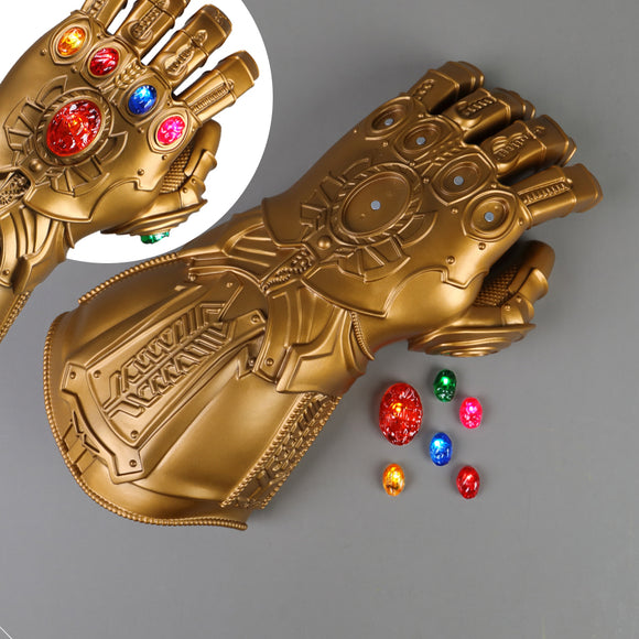 Avengers: Endgame Thanos Infinity Gauntlet Gloves Stone Movable Led Light Infinity War Glove Avengers Thanos Glove Hand Wear - BFJ Cosmart