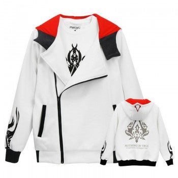 Assassin's Creed Logo Zipper Hoodies - BFJ Cosmart