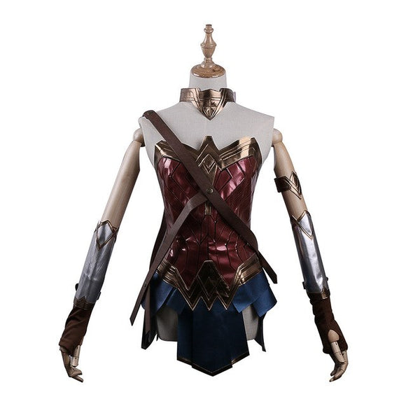 Dawn of Justice League Wonder Woman Cosplay Woman's Superhero Diana Prince Halloween Costume - BFJ Cosmart