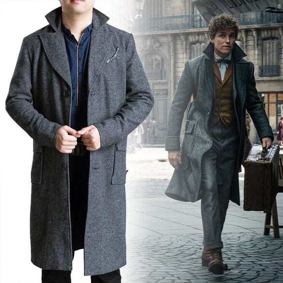 Harri Potter Fantastic Beasts Cosplay and Where to Find Them 2 Costume Newt Scamander Bulma Carnival Adult Costumes Halloween - BFJ Cosmart