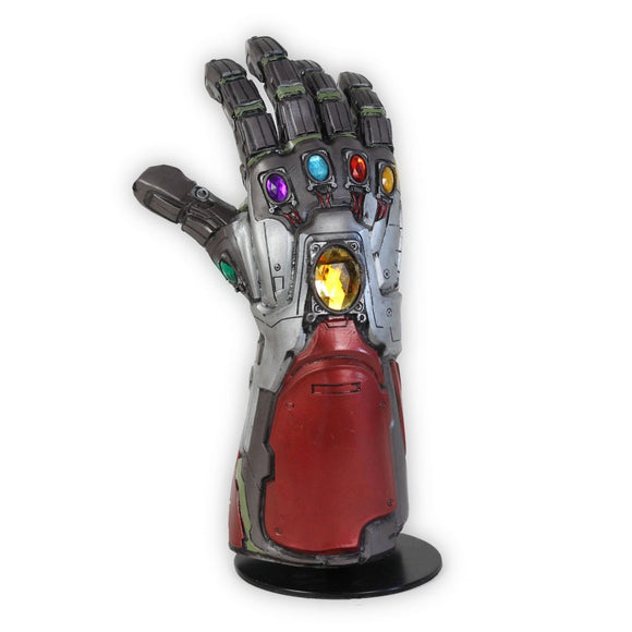 Avengers 4 Endgame Iron Man Infinity Gauntlet Hulk Cosplay Arm Thanos Latex Gloves Arms Mask Marvel Superhero Weapon Party Props - BFJ Cosmart